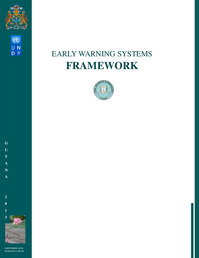 EARLY WARNING SYSTEMS FRAMEWORK