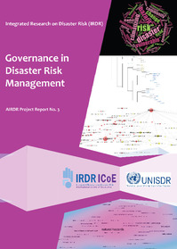 Governance in Disaster Risk Management