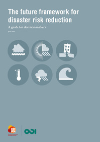 The future framework for Disaster Risk Reduction : A guide for decision makers