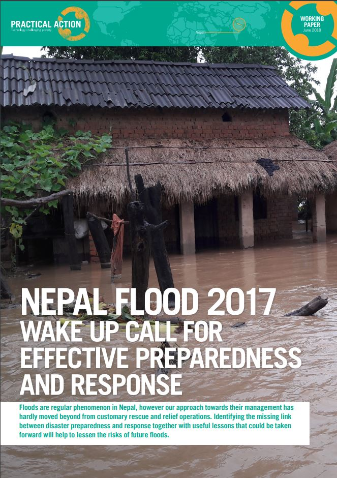 Nepal flood 2017: Wake up call for effective preparedness and response