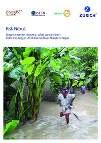 Urgent case of recovery: what we can learn from the August 2014 Karnali River floods in Nepal